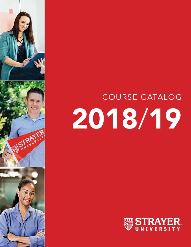 Strayer Catalog Cover 2018-2019 Image